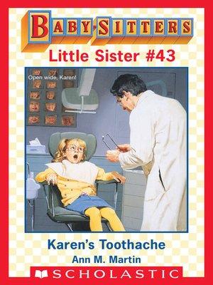cover image of Karen's Toothache