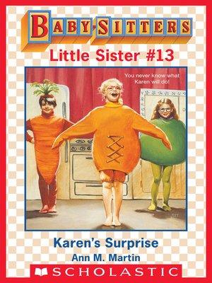 cover image of Karen's Surprise