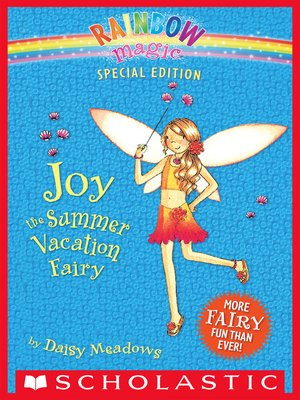cover image of Joy the Summer Vacation Fairy