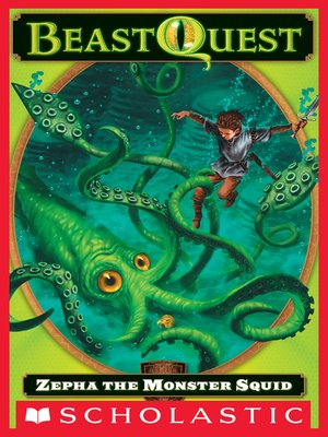 cover image of Zepha the Monster Squid