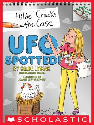 cover image of UFO Spotted!