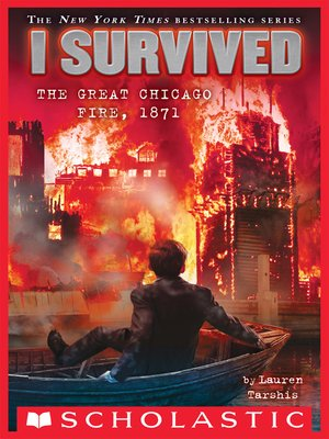 cover image of I Survived the Great Chicago Fire, 1871