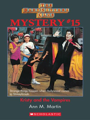 cover image of Kristy and the Vampires