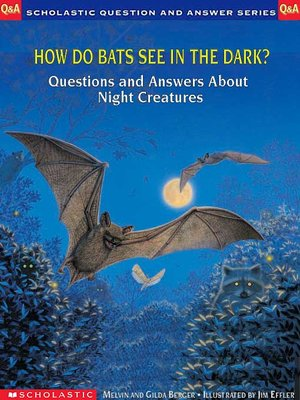 cover image of How Do Bats See in the Dark?