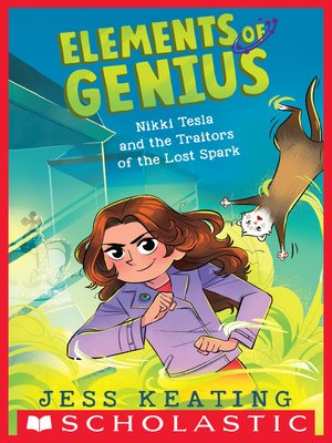 cover image of Nikki Tesla and the Traitors of the Lost Spark