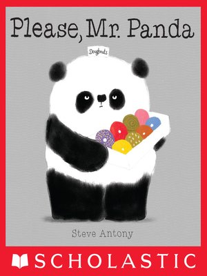 cover image of Please, Mr. Panda