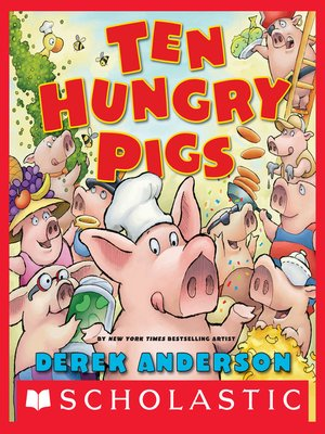 cover image of Ten Hungry Pigs