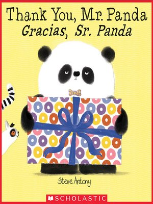 cover image of Thank You, Mr. Panda / Gracias, Sr. Panda