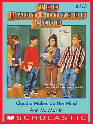 cover image of Claudia Makes Up Her Mind