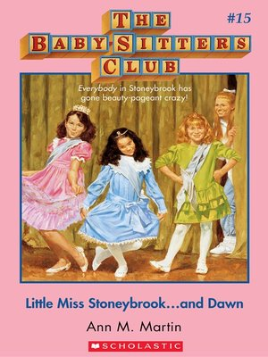 cover image of Little Miss Stoneybrook...and Dawn