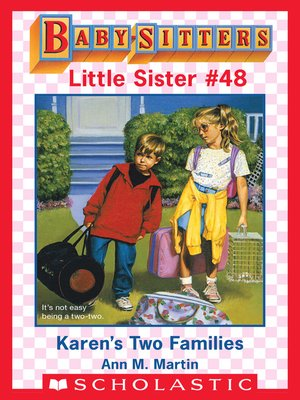 cover image of Karen's Two Families