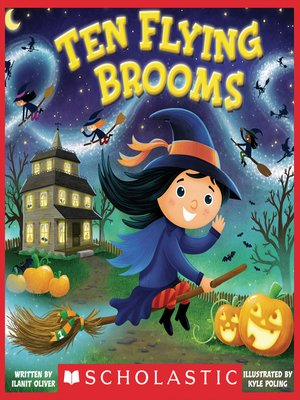 cover image of Ten Flying Brooms