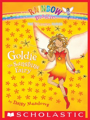 cover image of Goldie the Sunshine Fairy