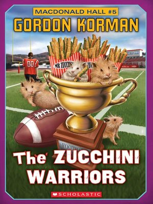 cover image of The Zucchini Warriors
