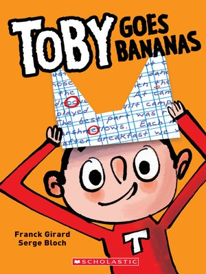cover image of Toby Goes Bananas