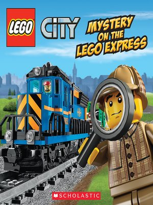 cover image of Mystery on the LEGO Express