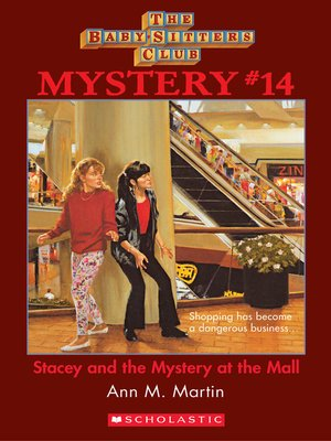 cover image of Stacey and the Mystery at the Mall