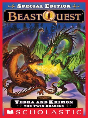 cover image of Vedra and Krimon the Twin Dragons