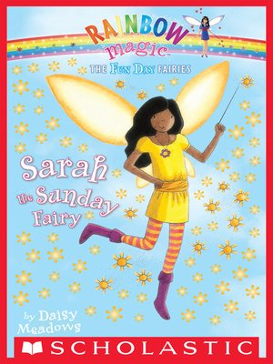 cover image of Sarah the Sunday Fairy