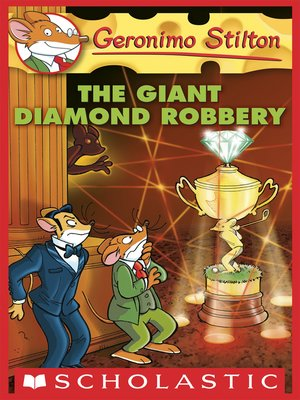 cover image of The Giant Diamond Robbery
