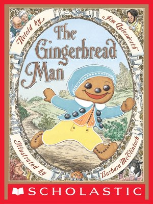 cover image of The Gingerbread Man