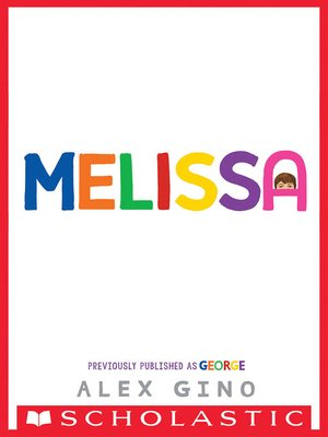 cover image of George (Scholastic Gold)