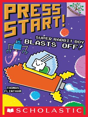 cover image of Super Rabbit Boy Blasts Off!