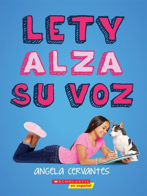 cover image of Lety alza su voz (Lety Out Loud)