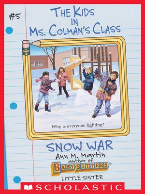cover image of The Snow War