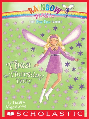 cover image of Thea the Thursday Fairy