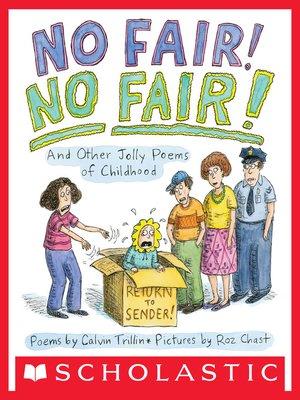 cover image of No Fair! No Fair!