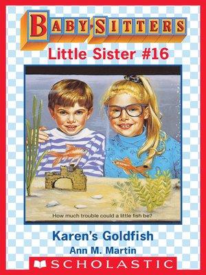 cover image of Karen's Goldfish