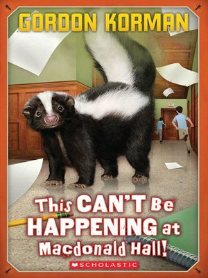 cover image of This Can't Be Happening at Macdonald Hall