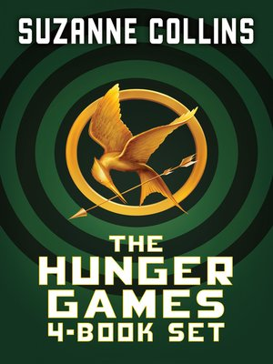 cover image of Hunger Games 4-Book Digital Collection