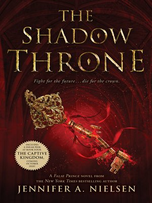 cover image of The Shadow Throne