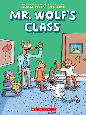 cover image of Mr. Wolf's Class