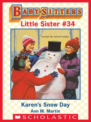 cover image of Karen's Snow Day
