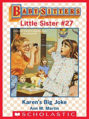 cover image of Karen's Big Joke
