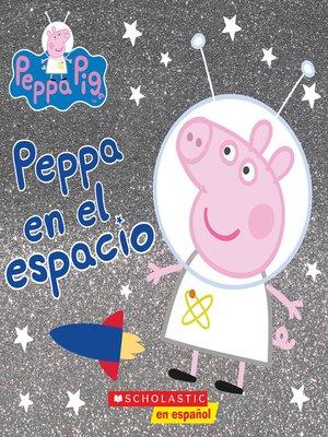 cover image of Peppa en el espacio