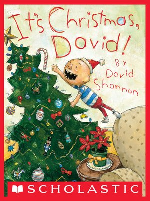 cover image of It's Christmas, David!