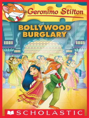 cover image of Bollywood Burglary