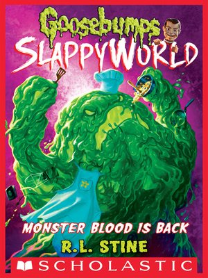 cover image of Monster Blood is Back