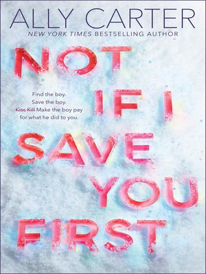 Cover image for Not If I Save You First