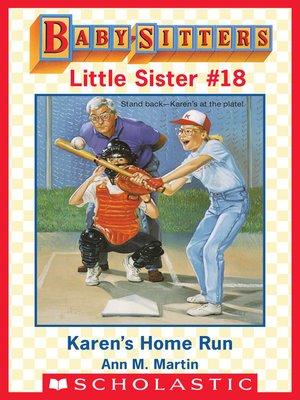 cover image of Karen's Home Run
