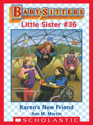 cover image of Karen's New Friend