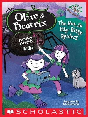 cover image of The Not-So Itty-Bitty Spiders