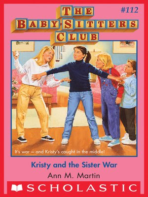 cover image of Kristy and the Sister War