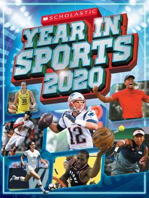 cover image of Scholastic Year in Sports 2020