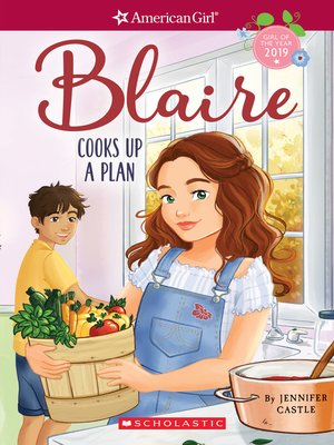 cover image of Blaire Cooks Up a Plan (American Girl