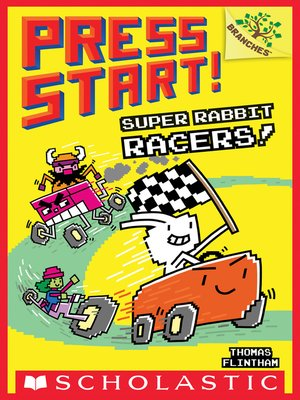cover image of Super Rabbit Racers!
